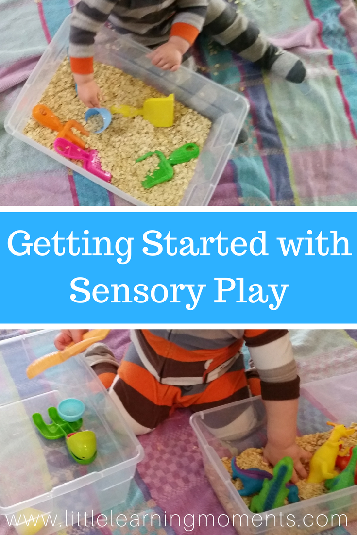 Sensory play doesn't have to be complicated.