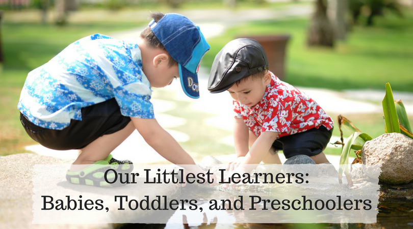 Learn what makes babies, toddlers, and preschoolers different.