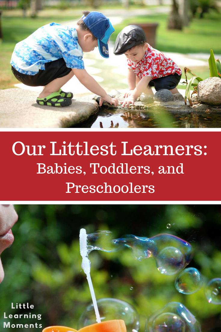 What is the difference between babies, toddlers, and preschoolers?