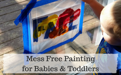 Mess Free Fall Painting