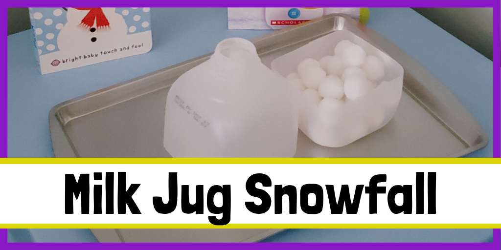 Milk Jug Snowfall