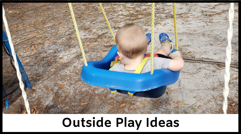 Outside Play Ideas