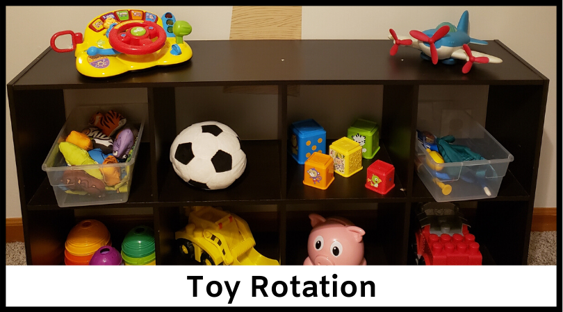 Keep things fresh and new for your kids using toy rotation!