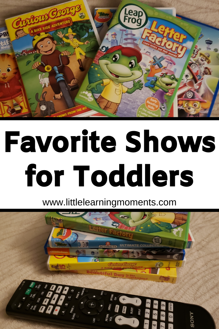 These shows have been a huge hit with my toddlers. Most of them incorporate some form of learning which is an added bonus!