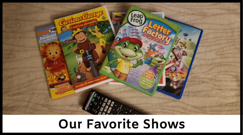 Favorite Shows for Toddlers